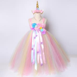 Alanna Unicorn Tutu Pastel Rainbow Girls Princess Dress