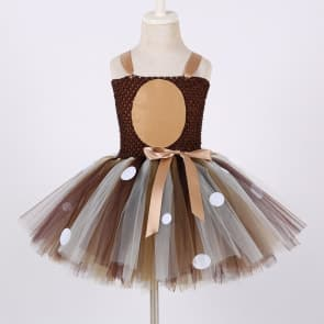 Deer Girls Tutu Dress With Headband